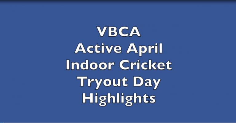 VBCA Active April Indoor Cricket