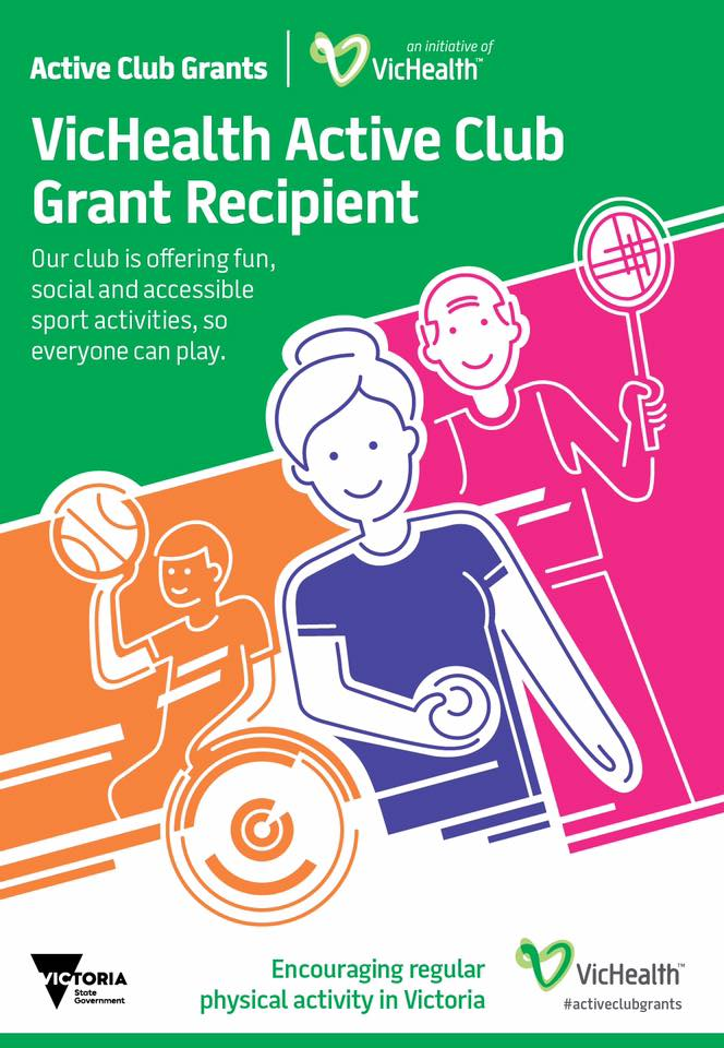 VicHealth Active Club Grand Recipient