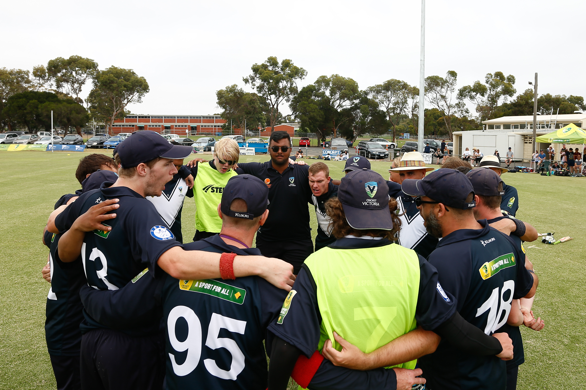 Vic Blind Cricket Open Training Session